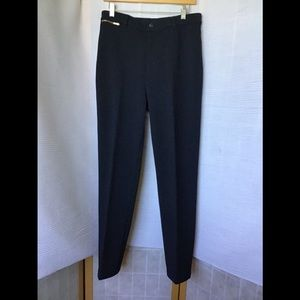 St. John black stretch pant size 12